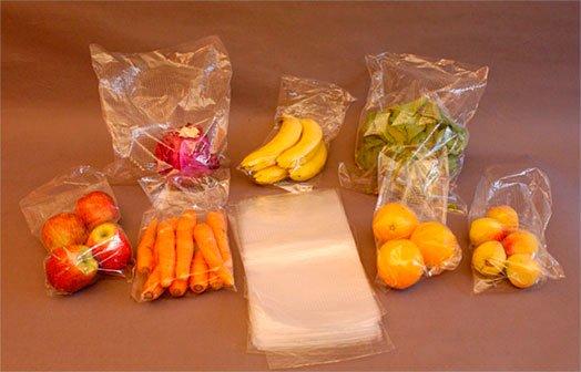 bolsas de polietileno para alimentos